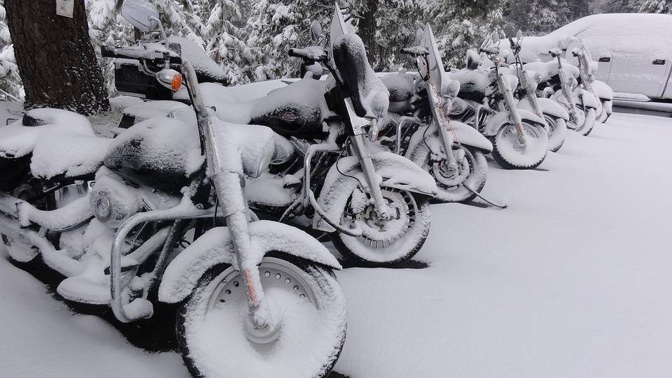 Vinterförvaring av motorcykel